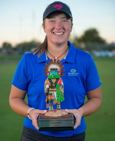 SMU-bound Wright wins Arizona Silver Belle<br><i>Courtesy of Az Silver Belle</i>