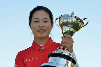 Min-Ji Park<br><i>Golf Australia/Facebook photo</i>