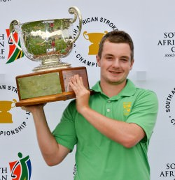 South African Stroke Play winner Jack Hume<br>(Ernest Blignault photo)