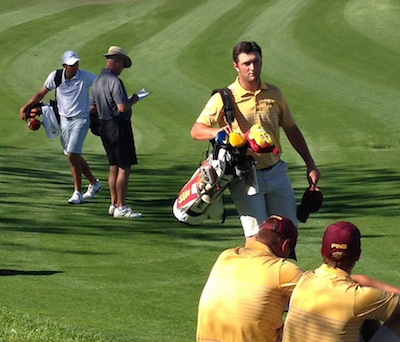 It was a great day for Jon Rahm and the ASU Sun Devils<br>Brian McGuire photo