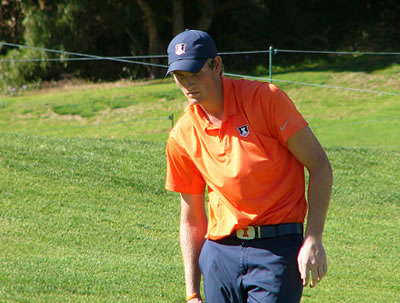 Charlie Danielson, shown during Monday's NT Collegiate Showcase<br>AmateurGolf.com Photo