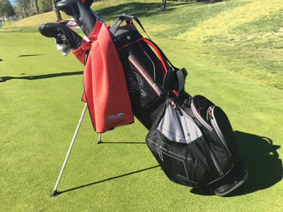 The Sun Mountain Three.5 Stand Golf Bag with Zero-G
