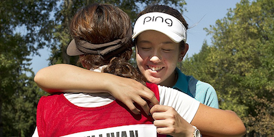 Hannah O'Sullivan, after winning the 2015 U.S. Women's Amateur<br>USGA Photo