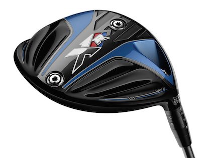 The sole of the XR 16 Sub Zero has two weight ports<br>that allow players to further tune ball flight