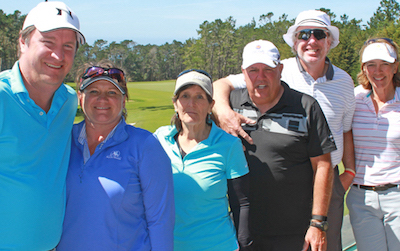Big Sur Flight winners including champions John and Angie Friedrich (near left) <br>(NGCA Photo)</br>