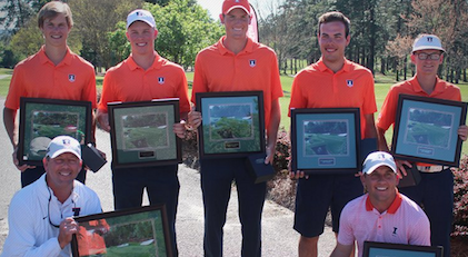 Illinois following 3M Augusta Invitational championship <br>(University of Illinois Photo)</br>