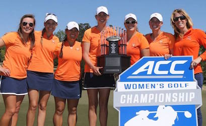 Virginia goes back-to-back at ACC Championship <br>(University of Virginia Photo)</br>
