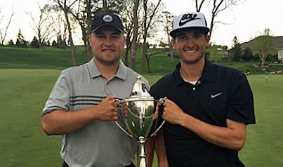 Nebraska Four-Bal winners Philip Maschka and Greg Stanek <br>(Nebraska Golf Association)</br>
