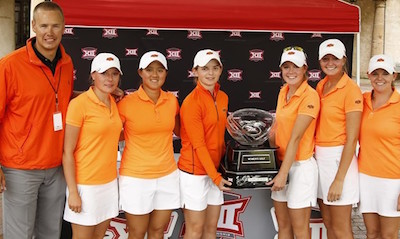 Oklahoma State Big 12 Women's champions <br>(Oklahoma State Photo)</br>