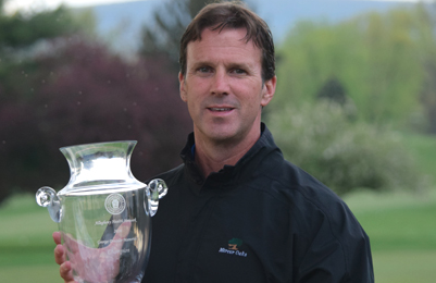 Thomas Timby with Pennsylvania Public Links Trophy <br>(Pennsylvania Golf Association Trophy)</br>