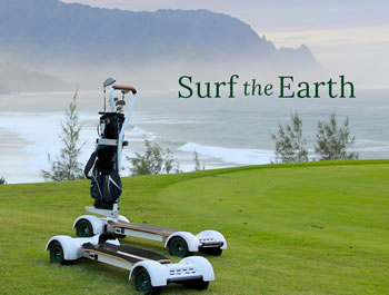 Surfing the Earth with Golfboard - Have you ridden one yet?