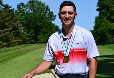 Sam Midgal rallies to win Old Warson <br>(Metropolitan Amateur Golf Association Photo)</br>