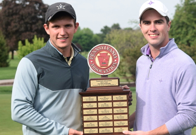 Zachary Herr and Jake Reilly earn Pennsylvania Better-Ball title <br>(Pennsylvania Golf Association Photo)</br>