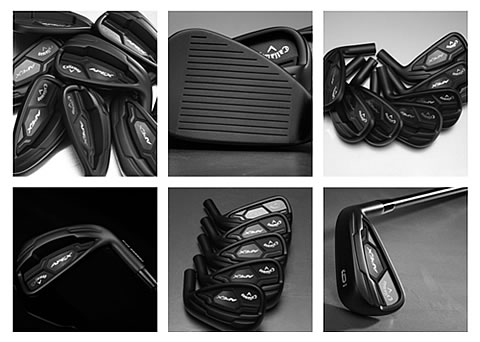 Callaway introduces new Apex Black irons