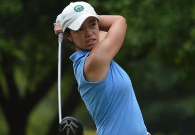 Ashley Sloup holds 36-hole lead at Carolinas Women's Amateur <br>(Carolinas Golf Association Photo)</br>