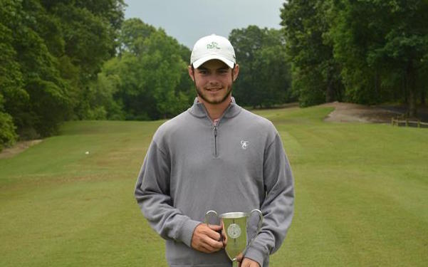 Sam Wimbrow has won the first ever Carolinian Amateur <br>(Photo Courtesy of Carolinas Golf Association)</br>