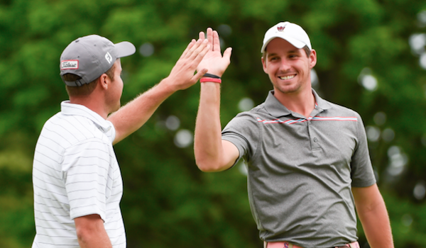 Patrick Ross (L) and Brandon Matthews (R) are U.S. Amateur Four-Ball medalist <br>(Photo Courtesy of the USGA)</br>