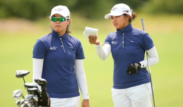 Princess Mary Superal (L) and Pauline Del Rosario (R) are medalist at Streamsong Resort <br>(Photo Courtesy of USGA)</br>
