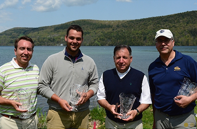 New York Four-Ball winners <br>(Photo Courtesy of NYSGA)</br>