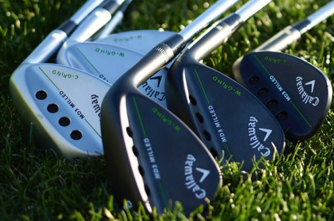 Scoring tools: Callaway's new MD3 wedges