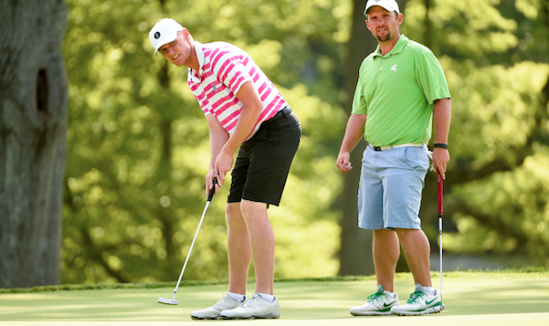 Ben Warquist (L) and Brandon Cigna (R) will play for U.S. Amateur Four-Ball title <br>(Photo Courtesy of the USGA)</br>