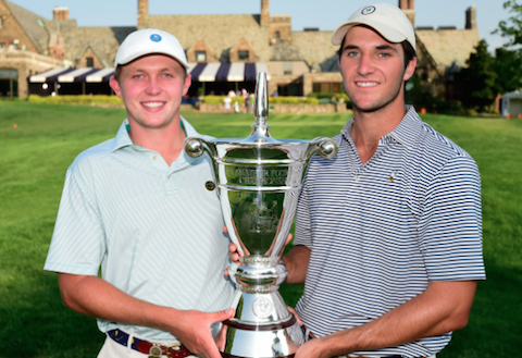 Ben Baxter & Andrew Buchanan completed a remarkable run at Winged Foot<br>(USGA Photo)</br>