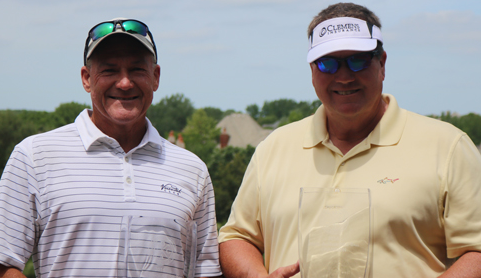 Tim Sheppard and Tom Kearfott paired to win Chicago Senior Four-Ball <br>(CDGA Photo)</br>