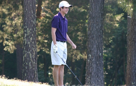 Bryce Howell and Furman teammate Preston Cole are in S.C. Four-Ball final <br>(Carolinas Golf Photo)</br>