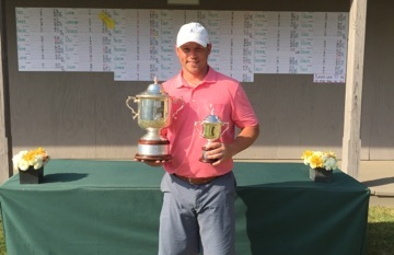 Lupton Invitational Mid-Am champ Joe Deraney