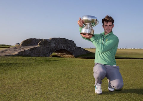 Conor O'Rourke won the St. Andrews Links Trophy (St. Andrews Links)