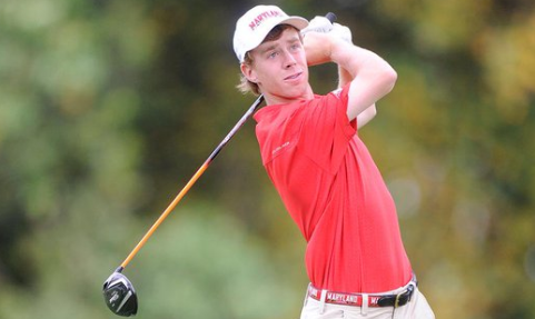 Amateurs David Kocher (pictured) and Tyler Lucas share second at North Carolina Open <br>(Maryland Athletics Photo)</br>