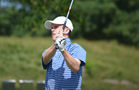 Luke Graboyes shares 36-hole lead at NJSGA Amateur <br>(NJSGA Photo)</br>