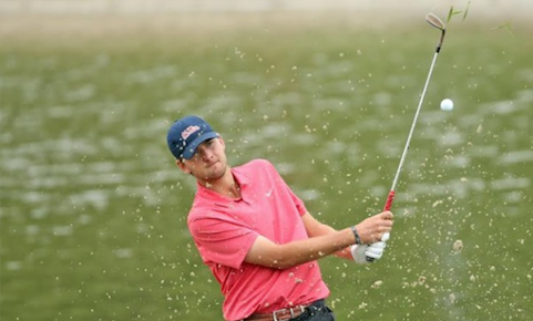 Ben Wolcott leads Monroe Invitational <br>(Ole Miss Athletics Photo)</br>