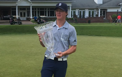 Final round 63 propels Sean Crocker to Monroe Invitational title