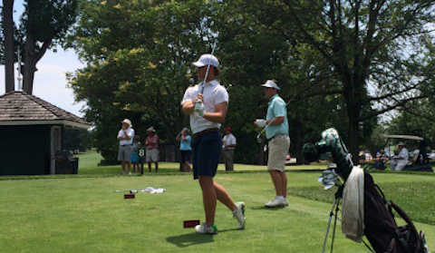 Connor Flach <br>(Photo by Loyola Golf Coach Chris Baloga)</br>