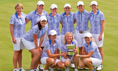 The 2016 Curtis Cup winning GB&I team <br>(USGA Photo)</br>