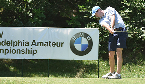Michael McDermott during BMW Philadelphia Amateur play <br>(GAP Photo)</br>