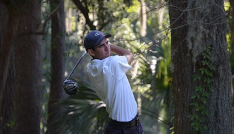 Riley Schank during qualifying at South Carolina Match Play <br>(Carolinas Golf Association Photo)</br>