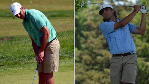 Corey Birch and Zach Zaback to face in final of Connecticut Amateur <br>(CSGA Photo)</br>