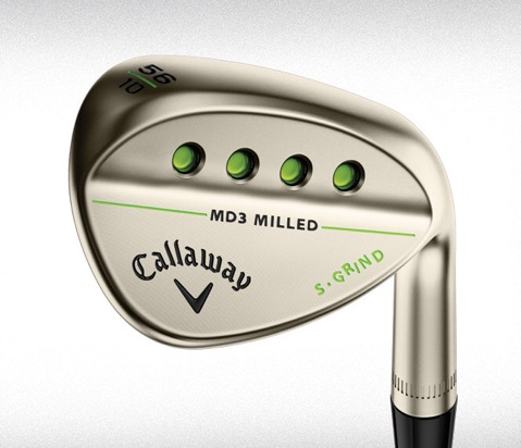 Callaway announces MD3 Gold Wedges