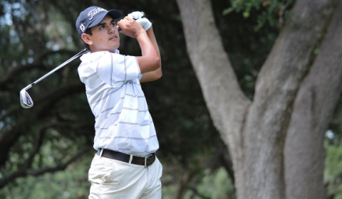 Chad Sewell during Texas Amateur third round <br>(Texas Amateur Photo)</br>