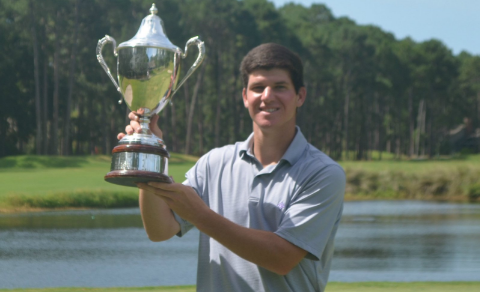 Connor Bruns captures South Carolina Match Play title <br>(Carolinas Golf Association Photo)</br>
