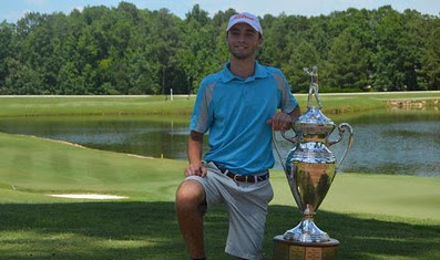 Nicholas Lyerly became the youngest NC Amateur champion on Sunday <br>(Carolinas Golf Association Photo)</br>