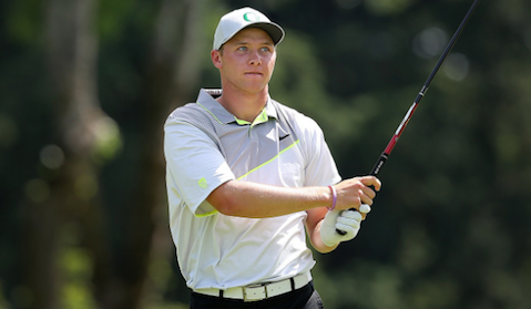 Oregon's Sulman Raza <br>(Golfweek Photo</i>