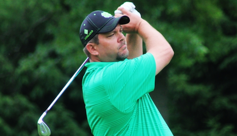 Matt Christensen holds 54-hole Indiana Amateur lead <br>(IGA Photo)</br>