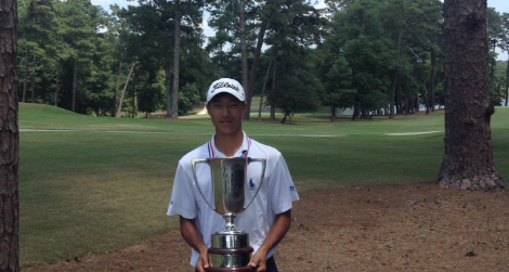 Georgia Junior winner Justin Kim <br>(Georgia Golf Association Photo)</br>