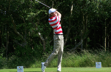 Charlie Danielson and Team USA rallied in afternoon play <br>(Palmer Cup Photo)</br>