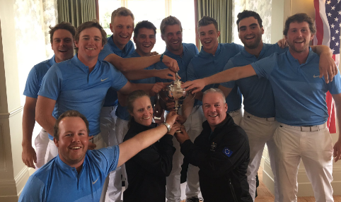 Europe celebrates Palmer Cup victory <br>(Palmer Cup Photo)</br>