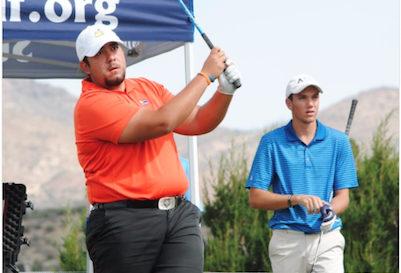 Sean Carlon during NMWT action <br>(Sun Country Golf Photo)</br>