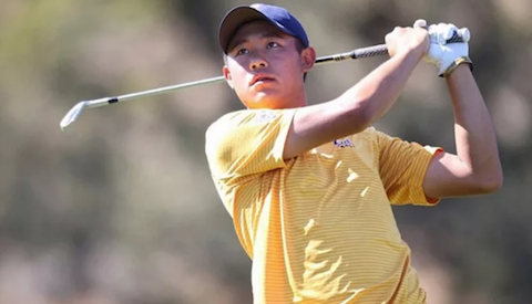 Collin Morikawa <br>(Cal Athletics Photo)</br>